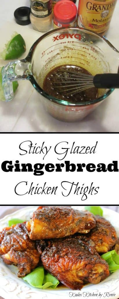 Gingerbread Chicken