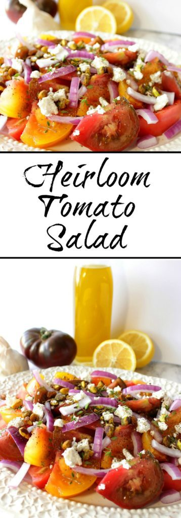Heirloom Tomato Salad with Goat Cheese