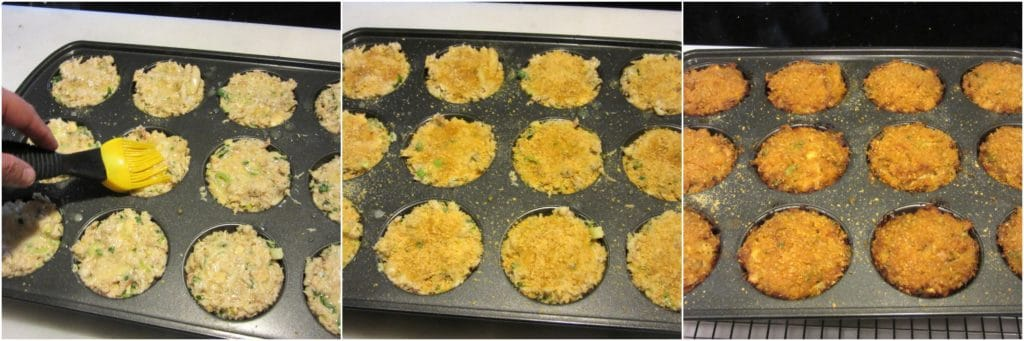 How to make crunchy crab cakes.