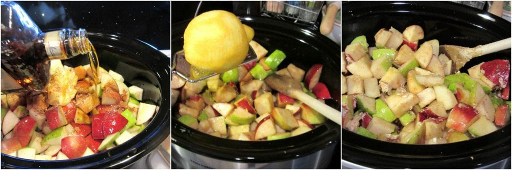 Slow Cooker Apple Pear Sauce Recipe