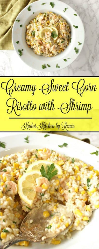New England Sweet Corn Risotto