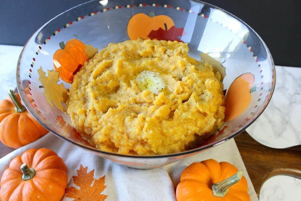 Mashed Potatoes with Pumpkin