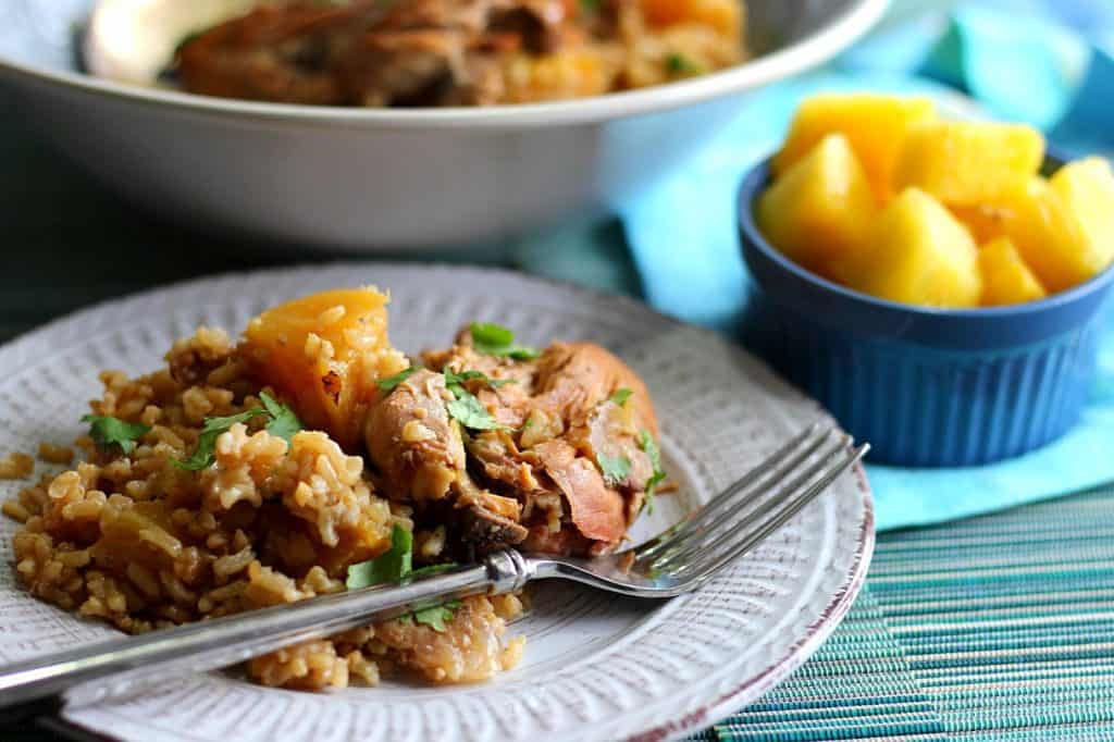 Hawaiian Pineapple Chicken Thighs