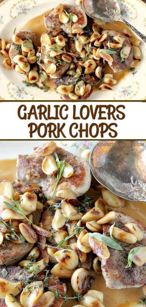 Mild and Sweet Garlic Lovers Pork Chops - kudoskitchenbyrenee.com