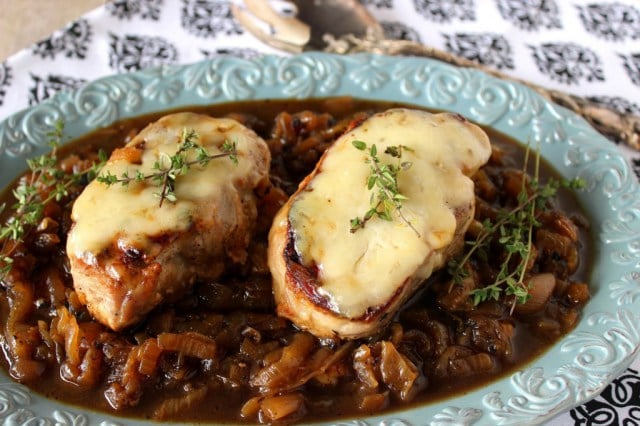 Fabulous French Onion Pork Chops