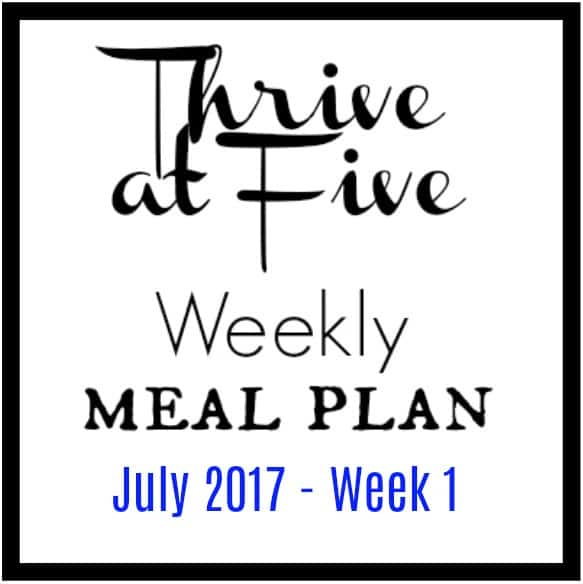 Thrive At Five Meal Plan Logo