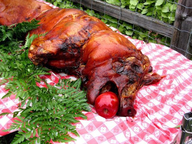 Pig Roast Luau 2015