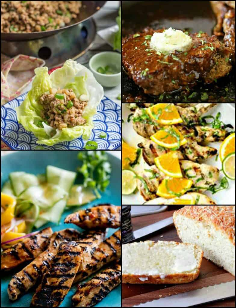 Thrive at Five Weekly Meal Planning Week 39 Collage