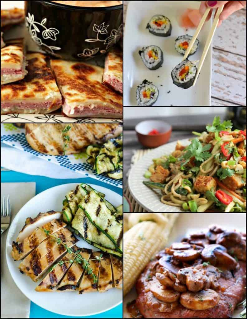 Thrive at Five Weekly Meal Planning for August