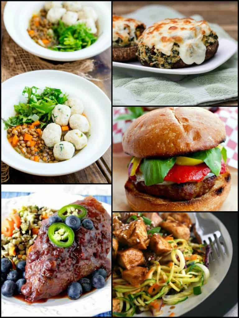 Thrive At Five Weekly Meal Planning - August 2017 Week 4