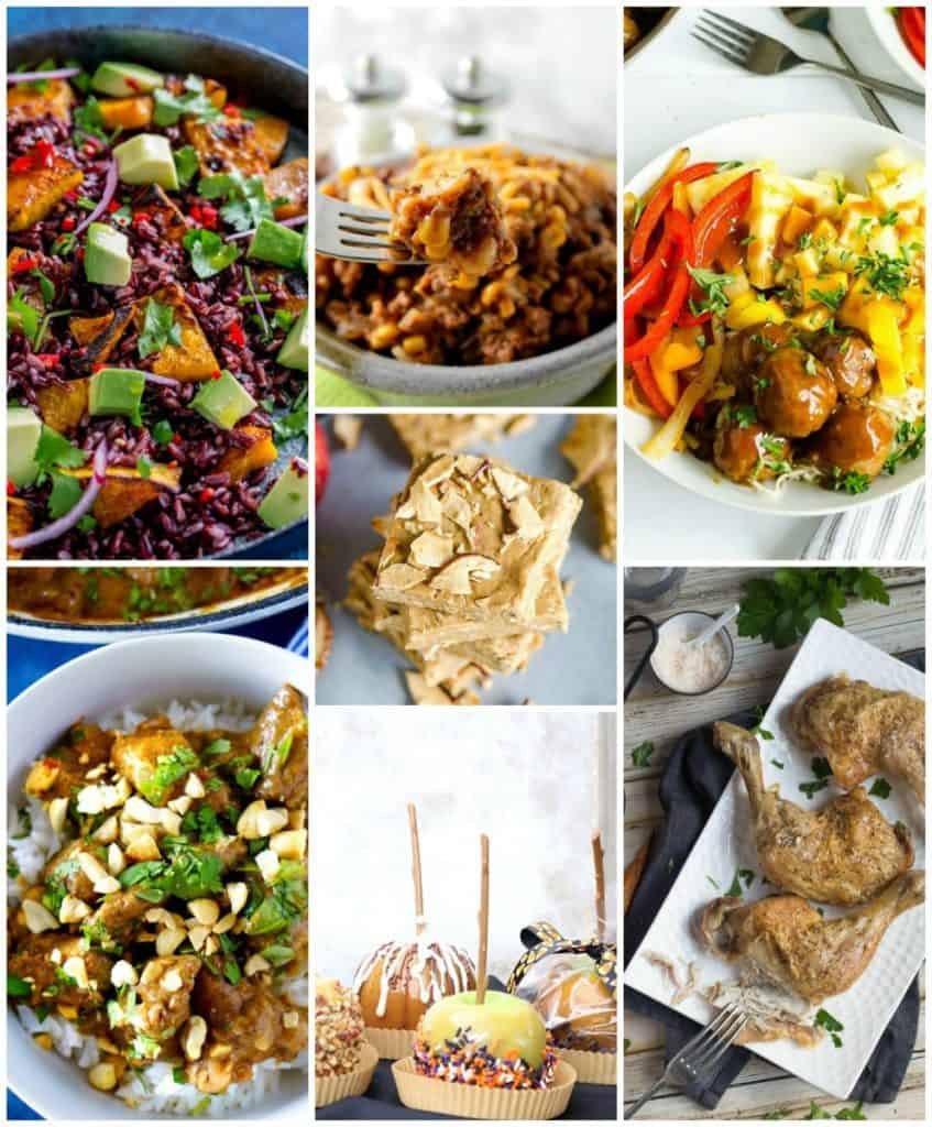 Weekly Meal Planning September Week One Collage