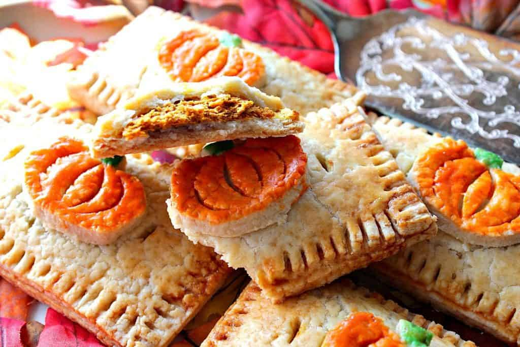 Charmingly Embellished Homemade Pumpkin Hand Pies