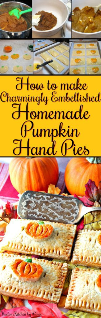 How to Make Charmingly Embellished Homemade Pumpkin Hand Pies