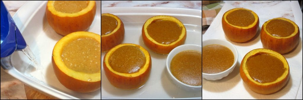 How to make pumpkin creme brulée photo tutorial.