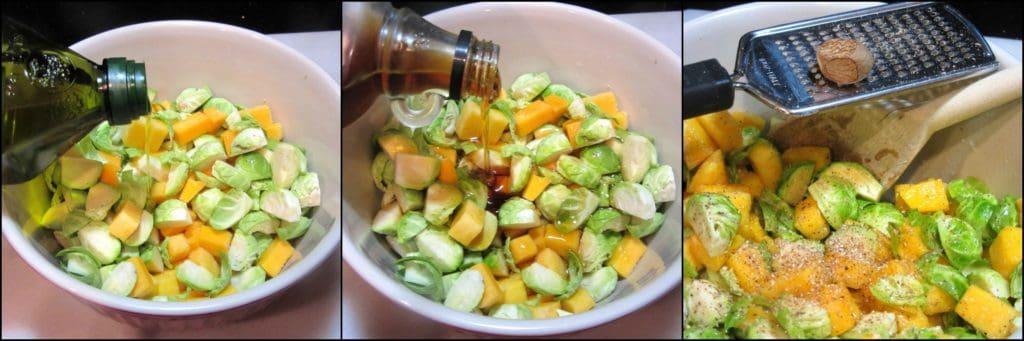 How to make an Chopped Fall Fruit & Vegetable Salad - kudoskitchenbyrenee.com