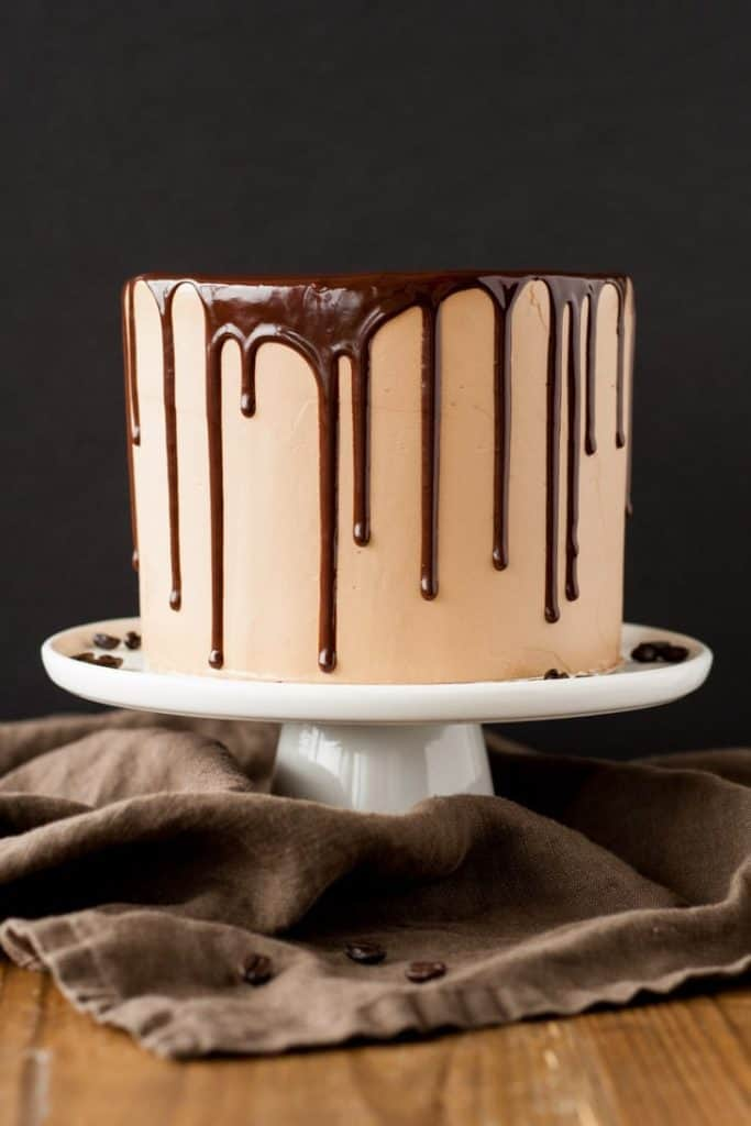 Chocolate drip cake for chocolate dessert recipes collection for Valentine's day