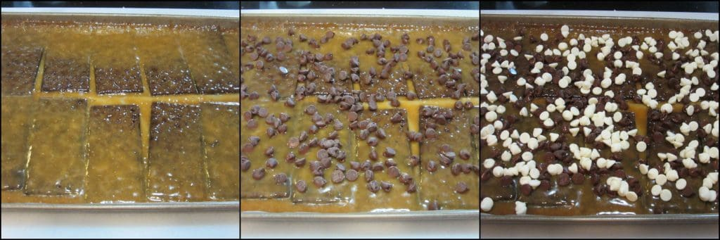 How to make Chocolate Graham Cracker Toffee with Almonds - Kudos Kitchen by Renee