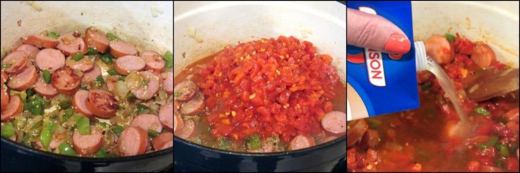 How to make Sausage Shrimp Jambalaya Kudos Kitchen Style - www.kudoskitchenbyrenee.com