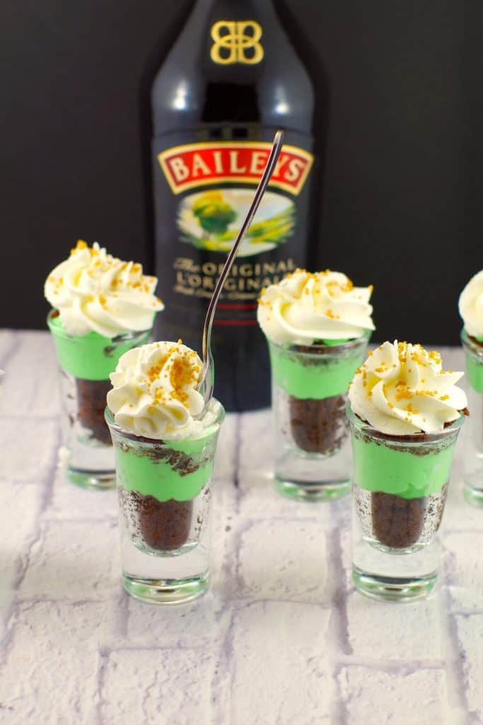 St. Patrick's day recipes image for a popular roundup post.
