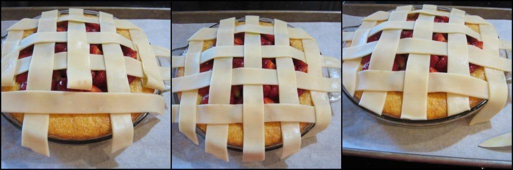 How to make a Strawberry Orange Pie Cake Photo Tutorial - www.kudoskitchenbyrenee.com