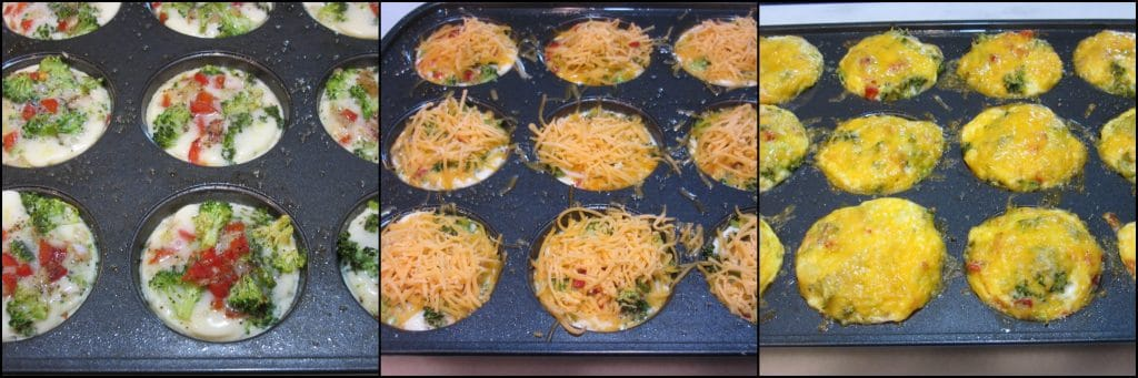 How to make Healthy Quinoa Veggie Egg White Cups for Breakfast - kudoskitchenbyrenee.com