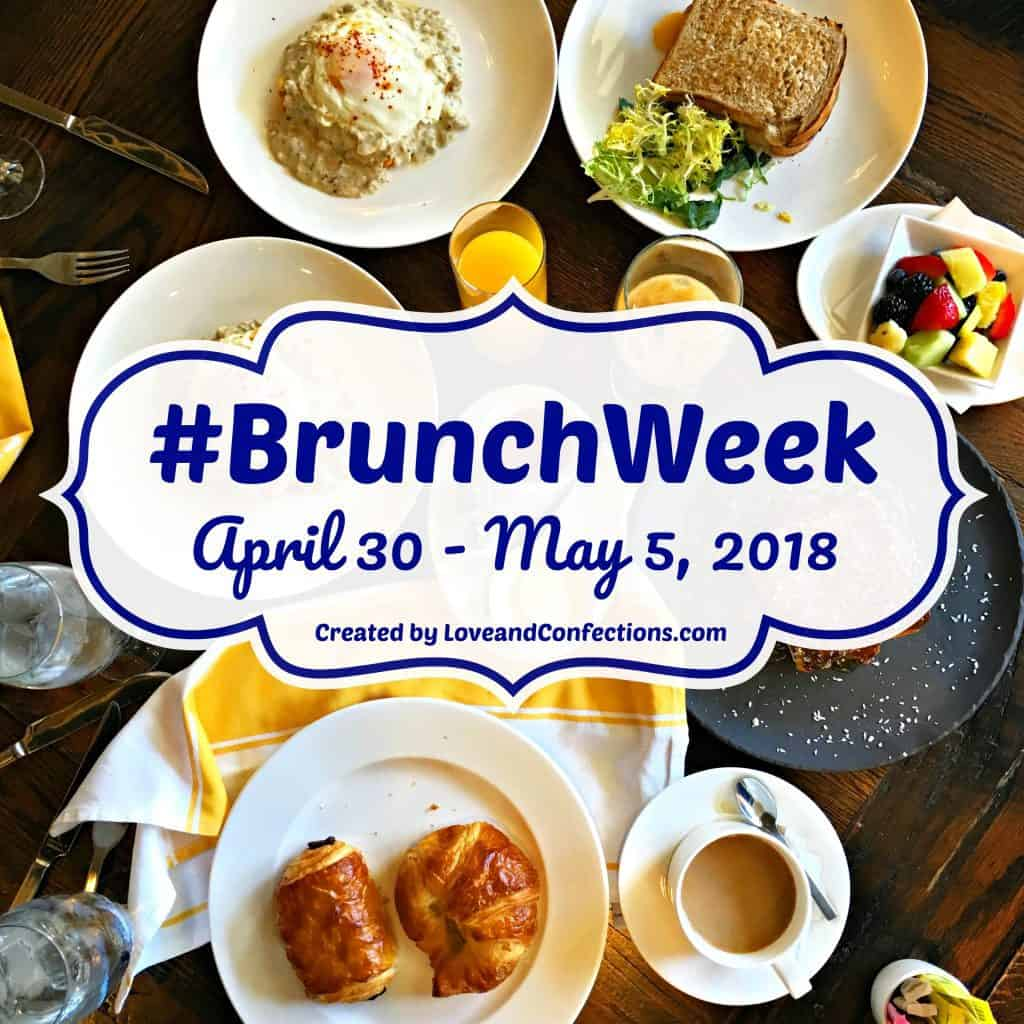 Brunch Week Logo for 2018 #BrunchWeek