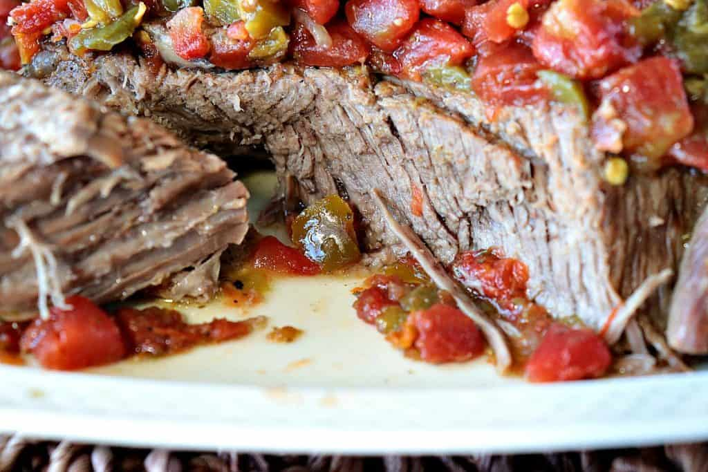 Four Ingredient Chile Pepper Pressure Cooker Pot Roast - kudoskitchenbyrenee.com