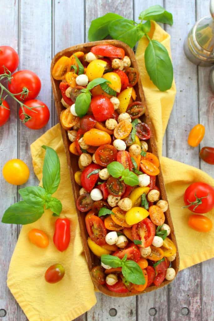 Tempting Tomato Recipe Roundup 2018 for Friday's Featured Foodie Feastings - kudoskitchenbyrenee.com