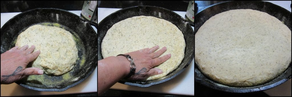 How to make Deep Dish Garlic Lover's Pizza photo tutorial - kudoskitchenbyrenee.com