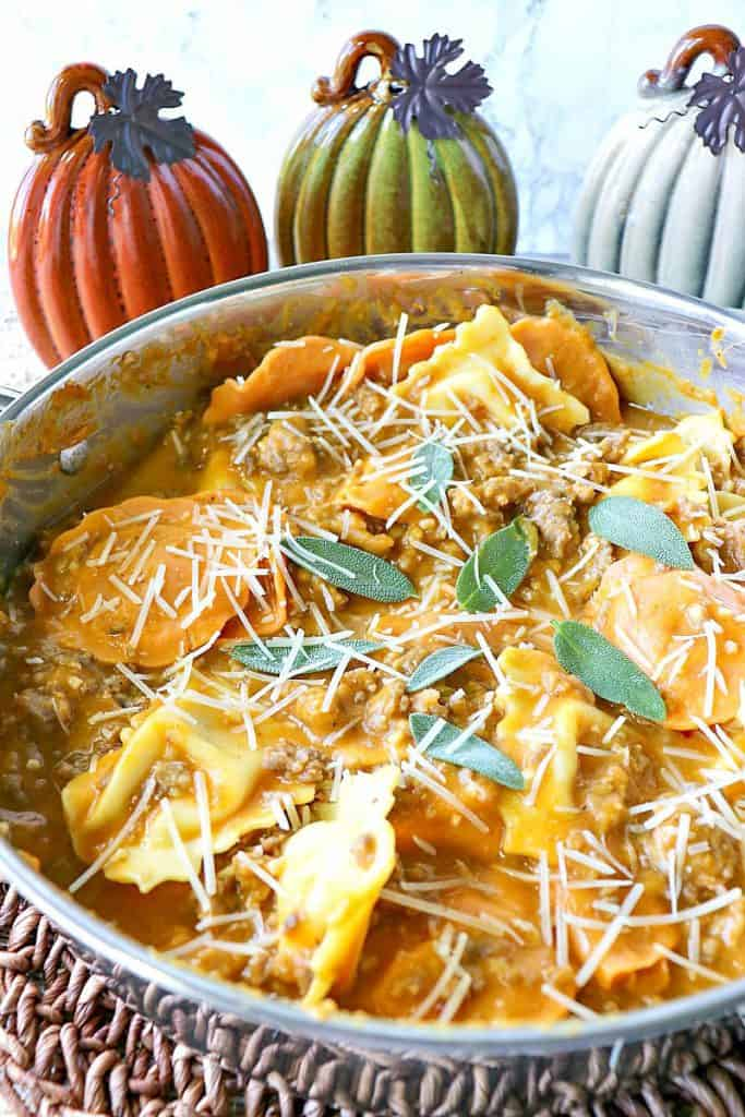 Pumpkin recipes don't always need to be sweet to be delicious, and the