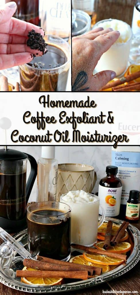 I've been using these homemade beauty products for the past several weeks, and I simply adore them. The Coffee Exfloaint is my favorite, but the Coconut Oil Moisturizer comes in a close second! - kudoskitchenbyrenee.com