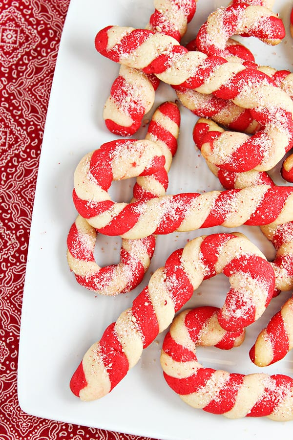 A photo of Christmas cookies for a colossal Christmas cookies recipe roundup.