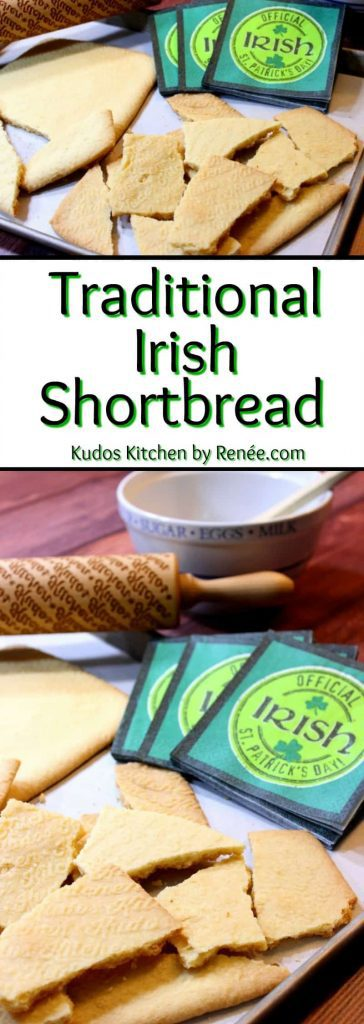 traditional Irish Shortbread - kudoskitchenbyrenee.com