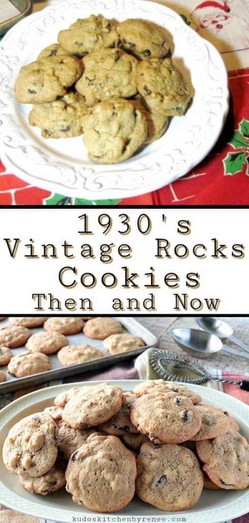 Vintage Rocks Cookies - kudoskitchenbyrenee.com