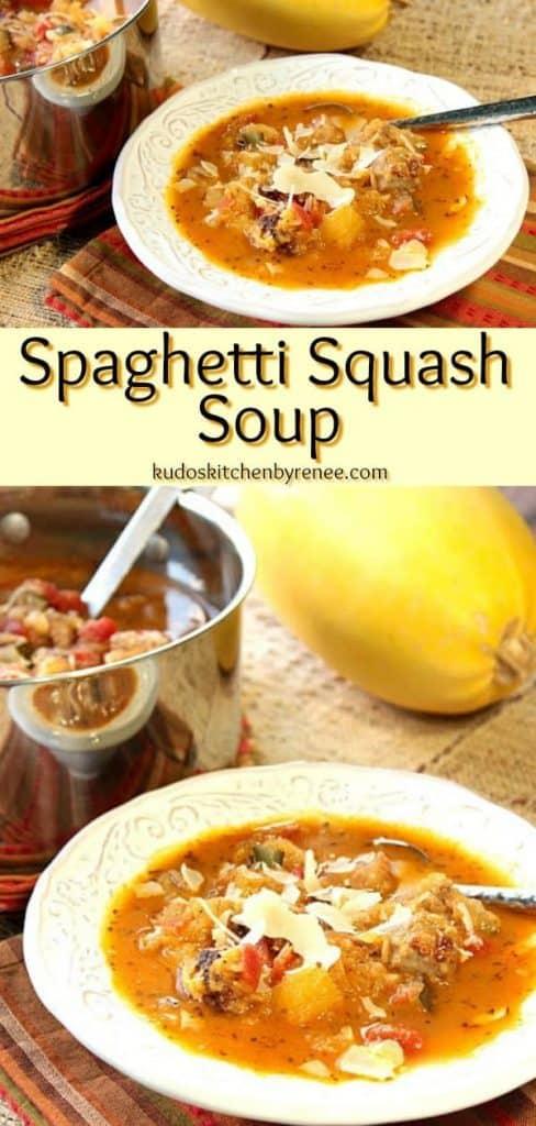 spaghetti squash soup - kudoskitchenbyrenee.com