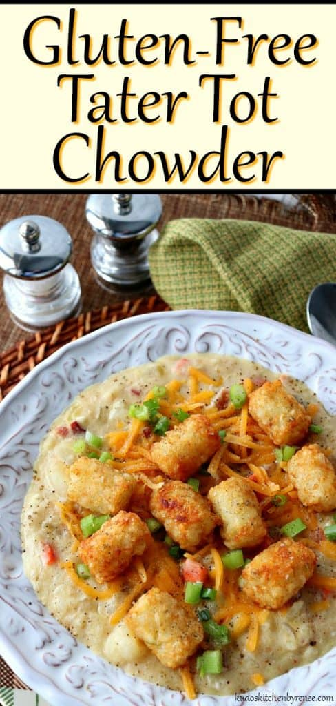 long title image of gluten-free tater tot chowder