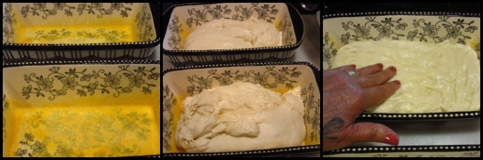 Step-by-step photo tutorial for making homemade English muffin bread.